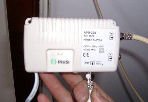 Instalar una antena para tdt bricocentro llomgar for Amplificador interior tdt